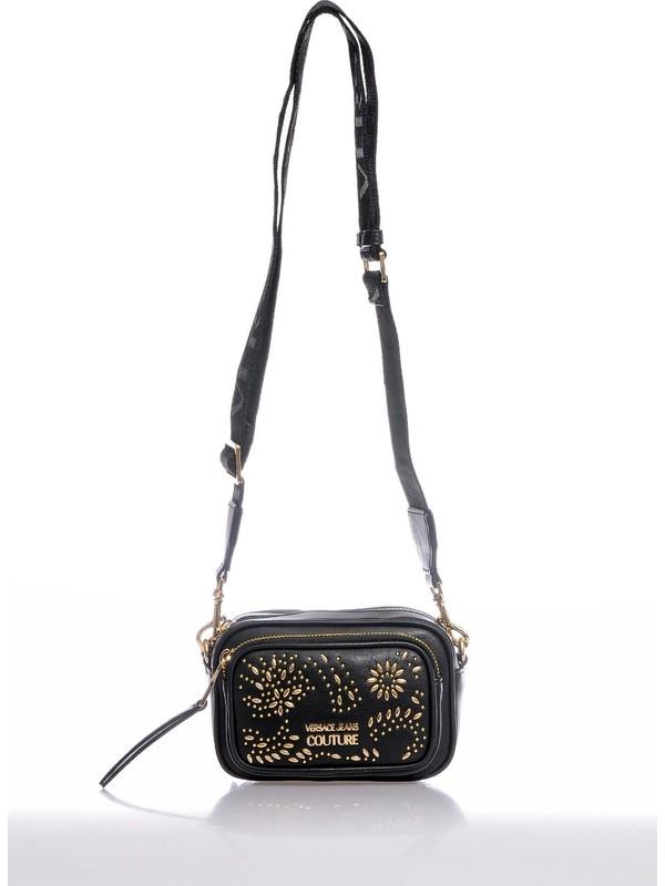Versace J.couture E1 Vzabb5 Siyah Kadın Omuz Çantası