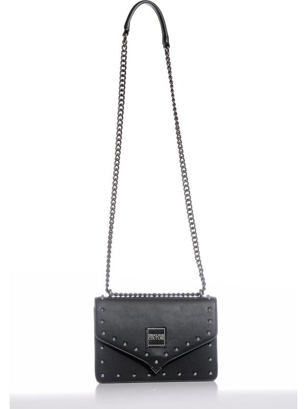 Versace J.couture E1 Vzbbe8 Siyah Kadın Omuz Çantası