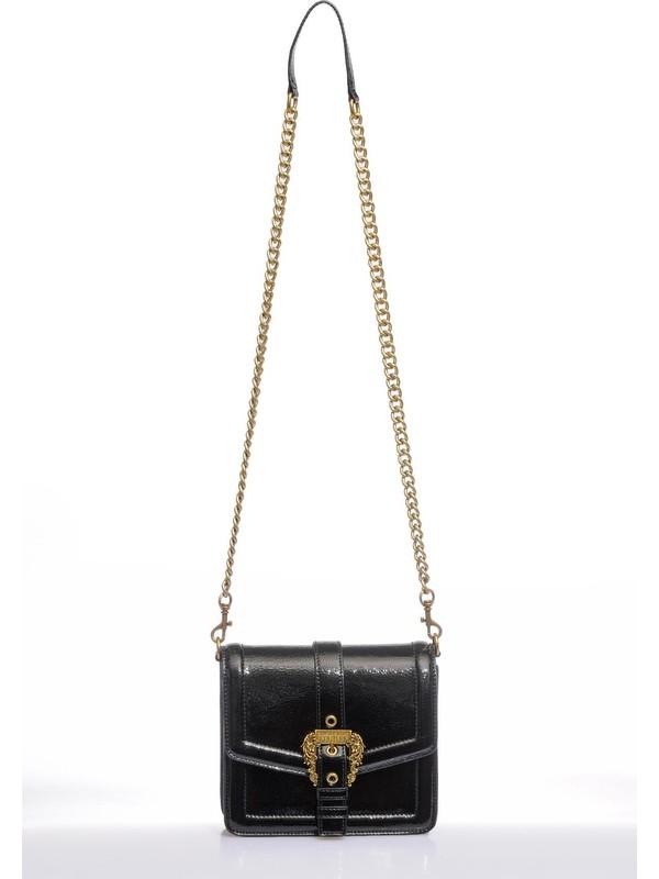 Versace J.couture E1 Vzbbm6 Siyah Kadın Omuz Çantası