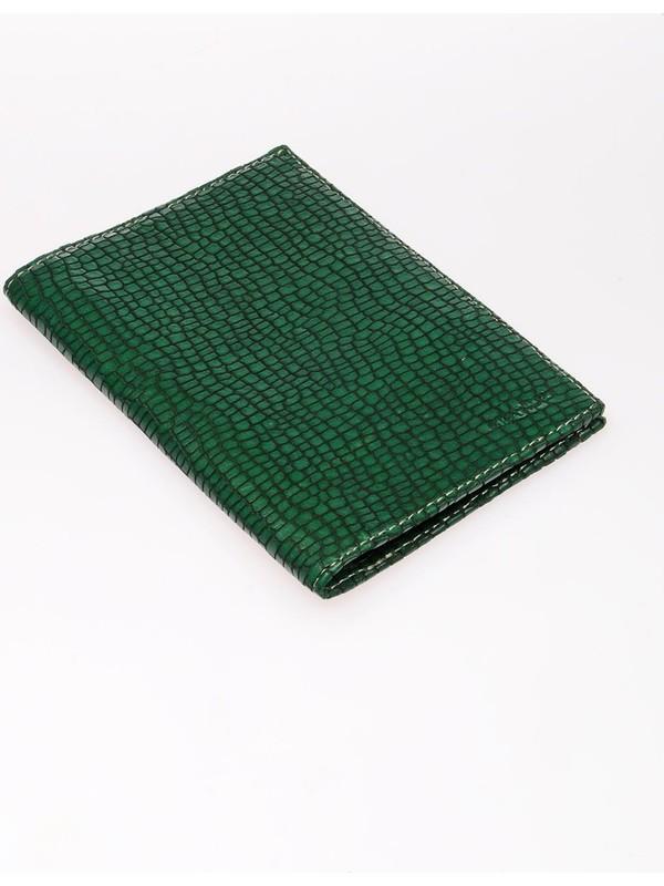 Grande GRERKCZ753 Petek Yeşil Unisex Pasaport Cüzdanı