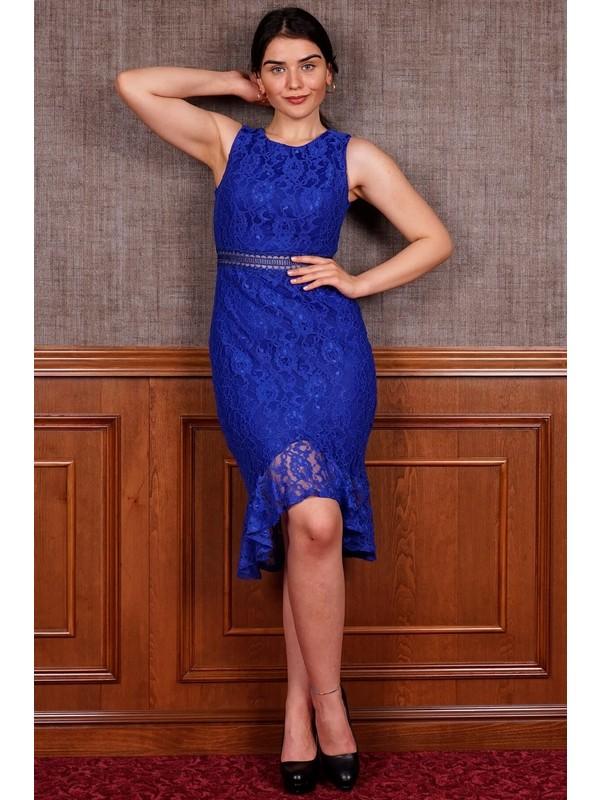 SpringStore Saks Kısa Mezuniyet Elbisesi