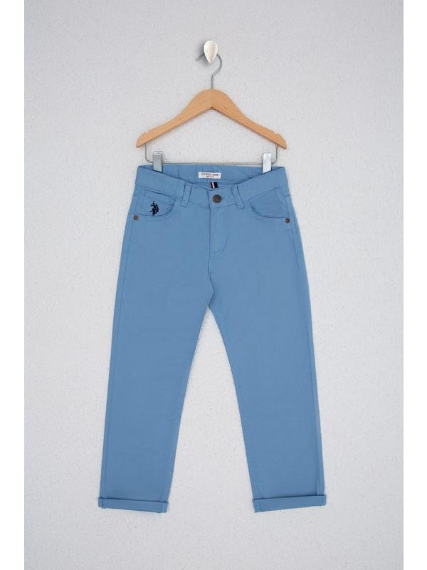 U.S. Polo Assn. Erkek Çocuk Mavi Chinos 50219475-VR073