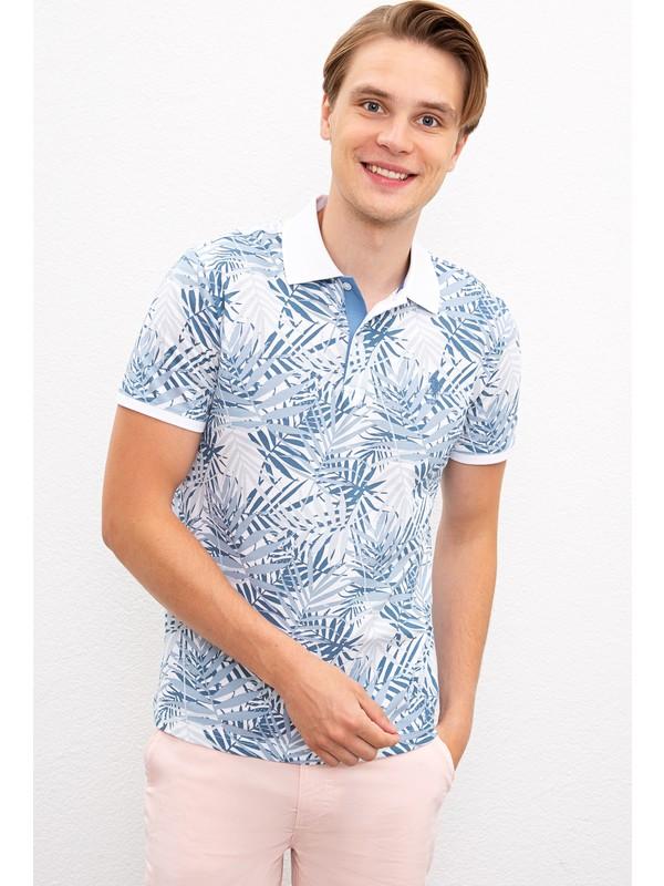 U.S. Polo Assn. Erkek Beyaz T-Shirt 50218408-VR013