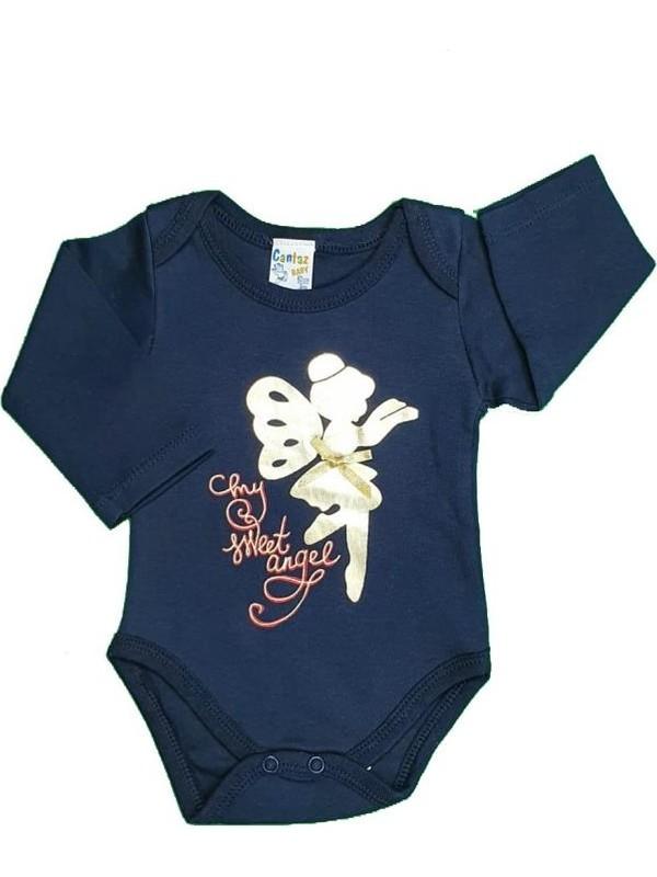 Cantaz Kız Bebek Peri Modelli Uzun Kol Zıbın 3 Ay - 1,5 Y