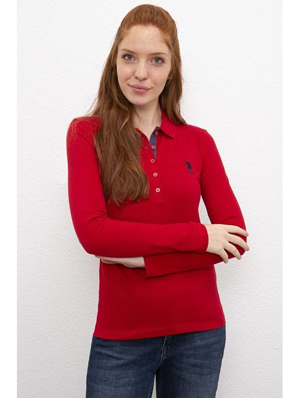 U.S. Polo Assn. Kadın Sweatshirt Basic 50205969-VR030