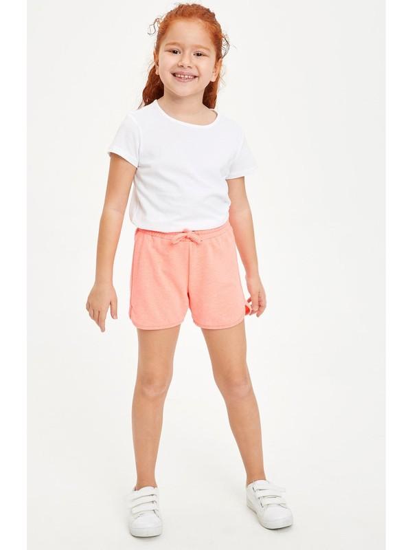 Defacto Kız Çocuk Bağcıklı Esnek Belli Şort L6125A620HS