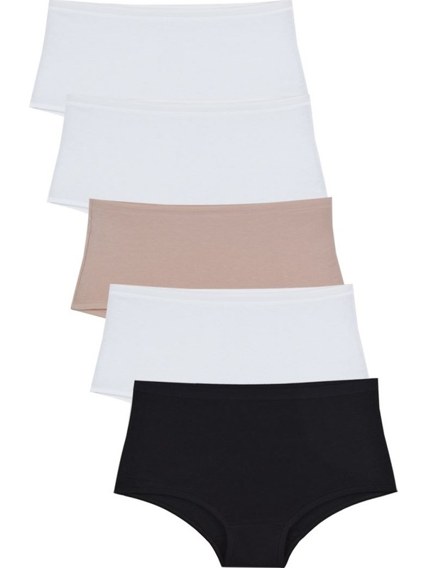 Nicoletta Mixcolor Kadın Külot 5'li Paket