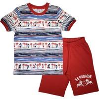 U.S. Polo Assn Erkek Çocuk T-Shirt Takım Lisanslı - US2729