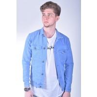 Zenet Jeans Erkek Slimfit Açık Mavi Kot Ceket