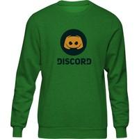Fandomya Casual Discord Yeşil Sweatshirt