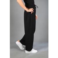 Modaceda Kadın Bol Paça Aerobin Kumaş Pantolon