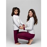 Just Basic L50002 Lovely Anne Kız Pijama Takımı