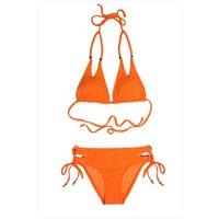 Ayyıldız Kız Çocuk Bikini Takımı 2401-2 Turuncu