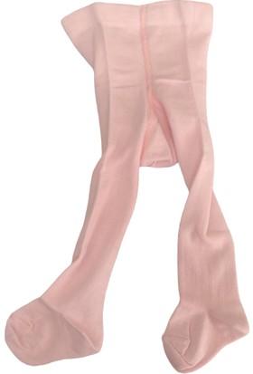 Lateks Kız Çocuk Külotlu Çorap - Pembe - 6-12 Ay