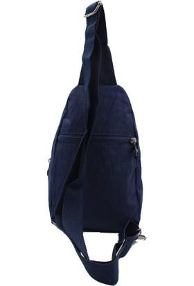 Bevitton 4 Bölmeli Astarlı Askılı Hafif Klinkır Kumaş Çapraz Omuz Body Bag Sırt Çantası