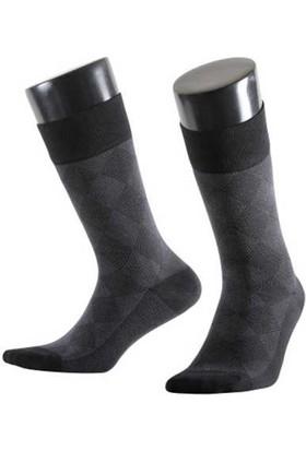 Aytuğ 14037 Erkek Bambu Çorap Desenli 12'li