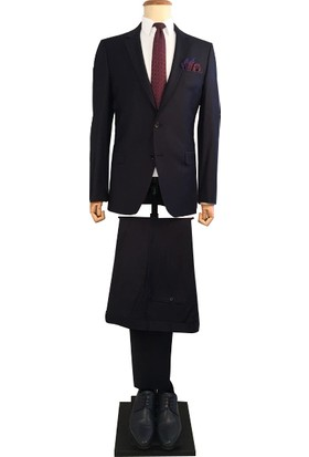 Avva Erkek Lacivert Basic Takım Elbise B007710