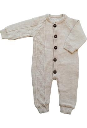 Puppis Baby Penye Astarlı Triko Tulum