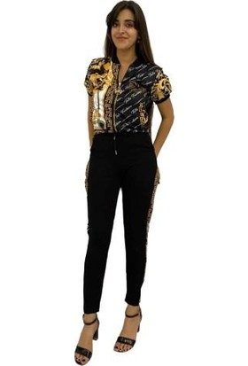Tatu Kadın Eşofman Takımı Siyah 4162