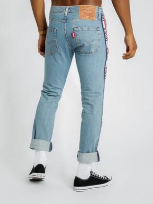 Levi's Erkek Jean Pantolon 501 Taper Sports Stripe 59439-0000