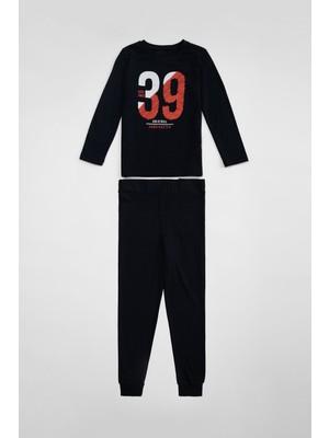 DeFacto Erkek Çocuk Baskılı Pijama Takımı S0441A620AU