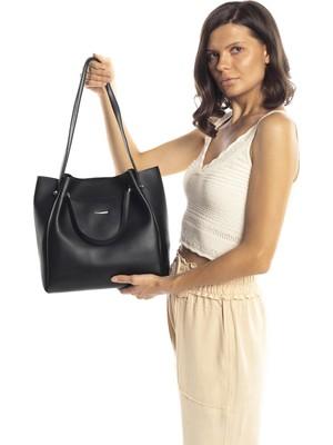 Madamra Halterli Çanta Siyah