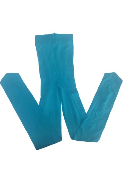 Lateks Kız Çocuk Muz Çorap - Mavi - 9-11 Yaş