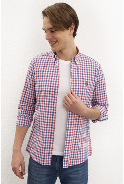 U.S. Polo Assn. Erkek Gömlek Uzunkol 50219628-VR030