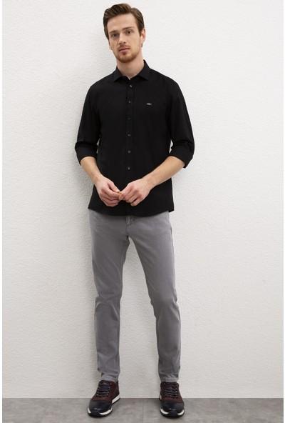 U.S. Polo Assn. Erkek Gömlek Uzunkol Basic 50219030-VR046