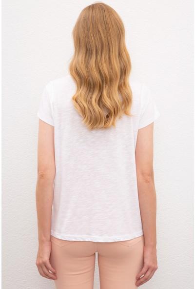 U.S. Polo Assn. Kadın T-Shirt 50219882-VR013
