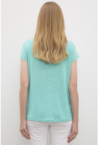 U.S. Polo Assn. Kadın T-Shirt 50219882-VR090