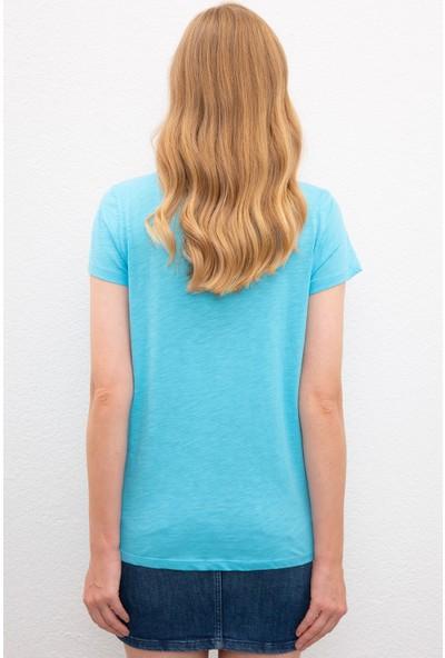 U.S. Polo Assn. Kadın T-Shirt 50219882-VR093