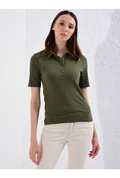 LC Waikiki Kadın Polo Yaka T-Shirt