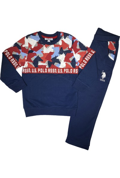 U.S. Polo Assn. Erkek Çocuk Eşofman Takım - Us2651