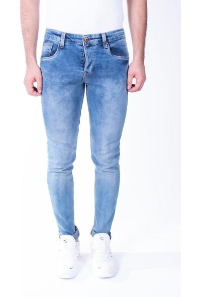 Zenet Jeans Erkek Slimfit Mavi Kot Pantolon