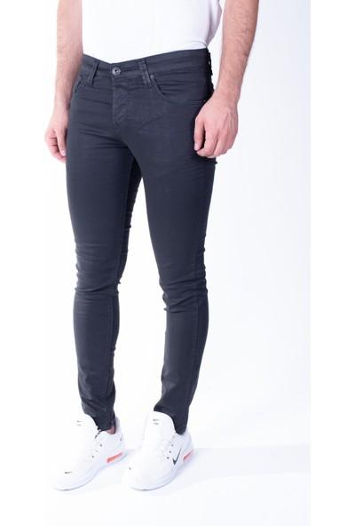 Zenet Jeans Erkek Slimfit Siyah Kot Pantolon