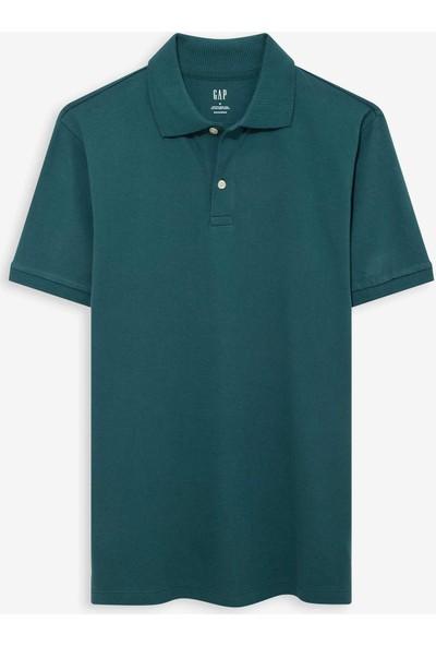 Gap Pique Kısa Kollu Polo T-Shirt