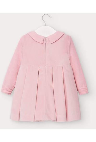 Mayoral Kız Bebek Uzun Triko Kollu Elbise