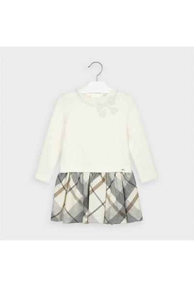 Mayoral Kız Çocuk Takım Görünümlü Ekose Elbise