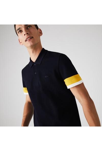 Lacoste Erkek Regular Fit Blok Desenli Renkli Polo PH1843.G8Y