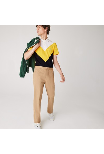 Lacoste Erkek Regular Fit Blok Desenli Renkli Polo PH1872.G8Y