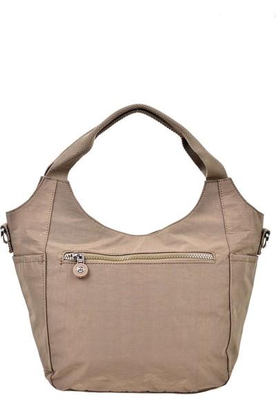 Smart Bags Omuz ve El Çantası Açık Kahve 3079