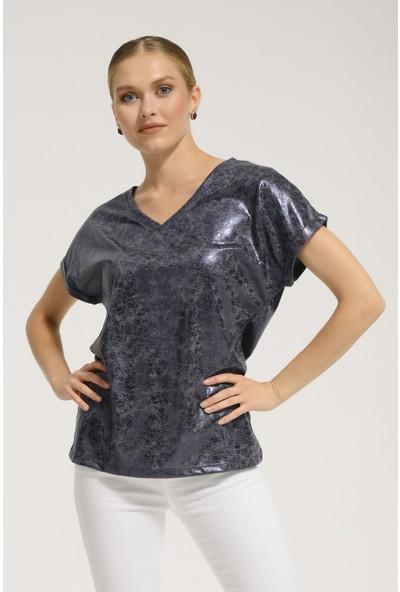 Batik Y42719 Orm Düz Casual T-Shirt Kısa Kol