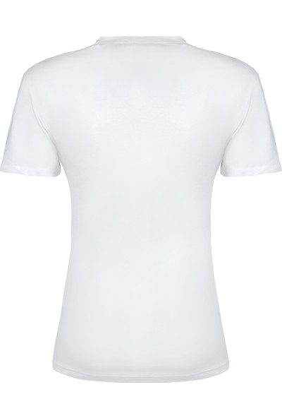 Calvin Klein Erkek T-Shirt 40L6771-006