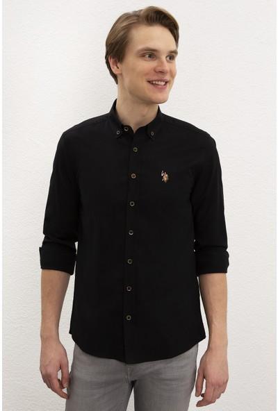 U.S. Polo Assn. Erkek Gömlek Uzunkol Basic 50218882-Vr046
