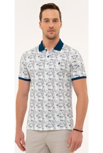Pierre Cardin Lacivert Slim Fit Polo Yaka T-Shirt 50226632-VR033