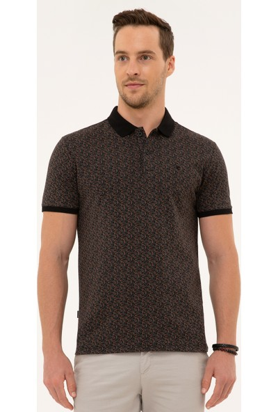 Pierre Cardin Siyah T-Shirt 50226633-VR046