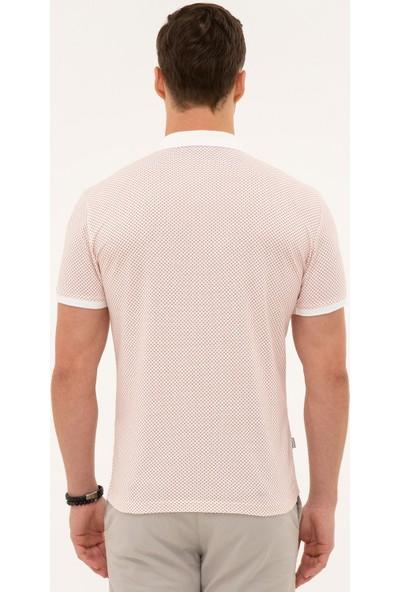 Pierre Cardin Turuncu Slim Fit Polo Yaka T-Shirt 50226909-VR031