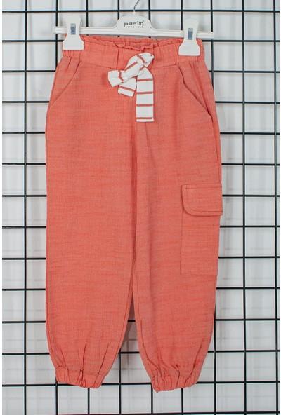 Pafim Cepli Kız Çocuk Pantolon 20-981