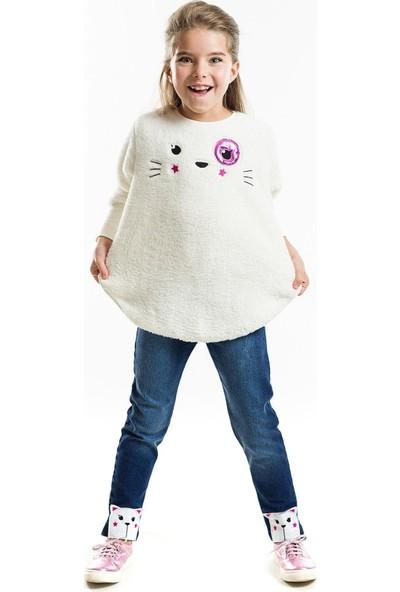 Ms Yumuş Kedi Jean Tayt Takım